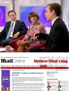 TaxPayers' Alliance on BBC and in Daily Mail