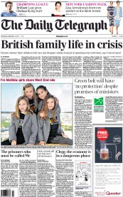 """Family life in crisis"""