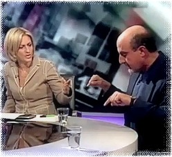 Nassim Taleb - angry on Newsnight