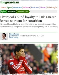Guardian's Stuart James on Suarez