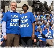 Troy Davis T-shirt campaign