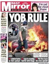 "Mirror ""Yob Rule"" - 2011 riots"